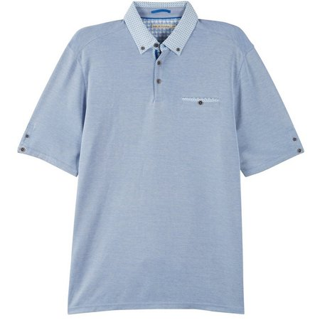 Age of Wisdom Mens Pocket Contrast Polo Shirt