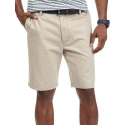 Nautica Mens True Khaki Twill Shorts