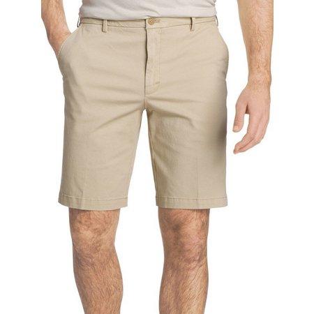 IZOD Mens Saltwater Stretch Chino Shorts