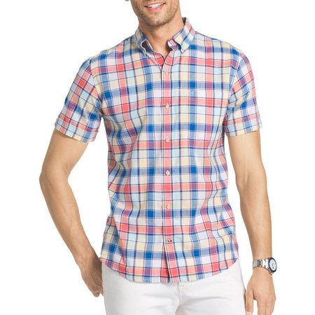 IZOD Mens Rose of Sharon Dockside Shirt