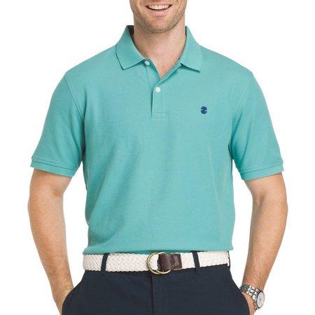 IZOD Mens Advantage Agate Contrast Polo Shirt