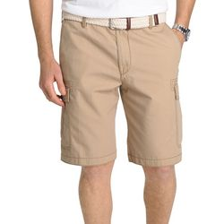IZOD Mens Seaside Ripstop Cargo Shorts