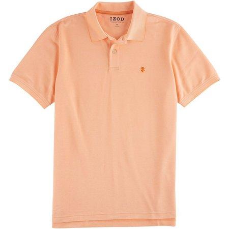 IZOD Mens Light Oxford Advantage Polo Shirt
