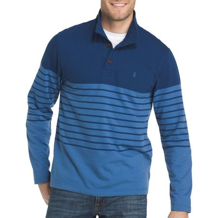 IZOD Mens Nauset Light Fleece Estate Polo Sweater