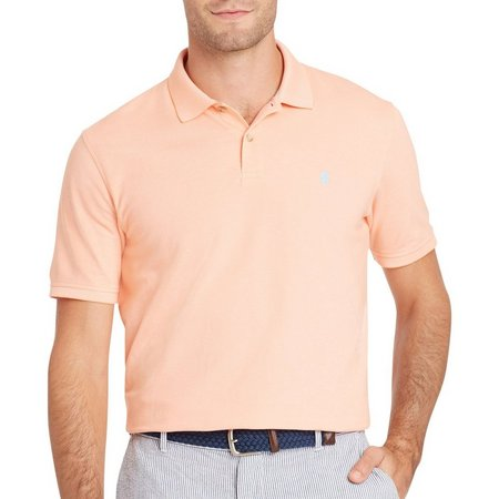 IZOD Mens Advantage Solid Polo Shirt