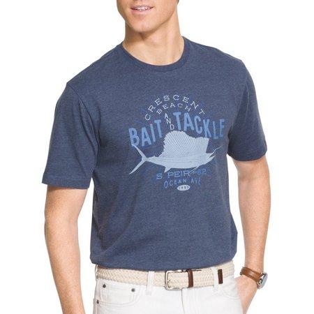 IZOD Mens Cresent Beach T-Shirt