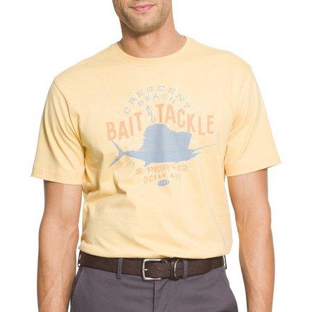 IZOD Mens Bait & Tackle Saltwater T-Shirt