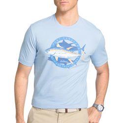 IZOD Mens Port Canaveral Big Fin T-Shirt