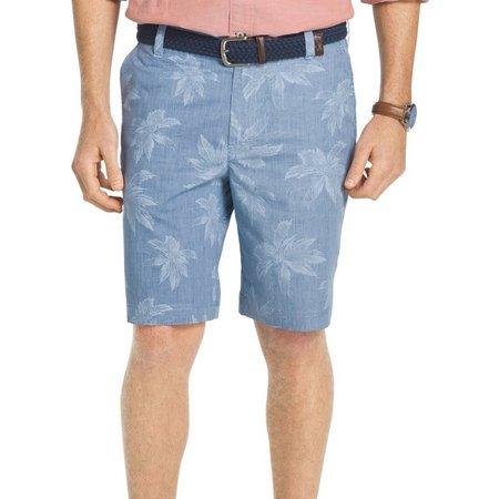 IZOD Mens Seaport Poplin Shorts