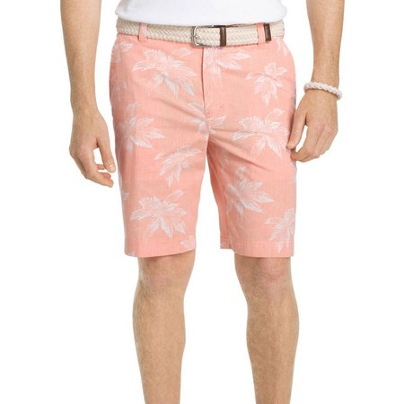 IZOD Mens Seaport Poplin Shorts