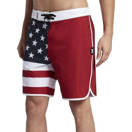 Hurley Mens Phantom Black Party USA Boardshorts