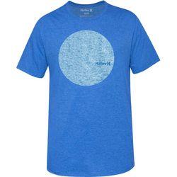 Hurley Mens Blue Circular T-Shirt