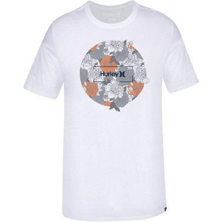 Hurley Mens Silent Roar Premium T-Shirt