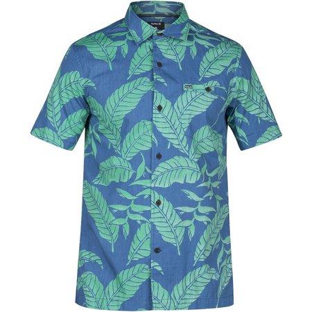 Hurley Mens Short Sleeve Belize Shirt