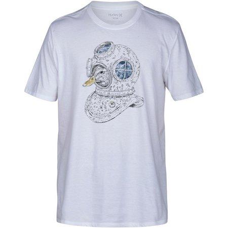 Hurley Mens Duck Diver Premium T-Shirt