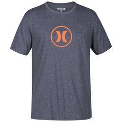 Hurley Mens Dri-Fit Circle Icon T-Shirt