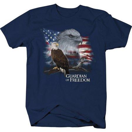 Authentic Classics Mens Guardian Eagle T-Shirt