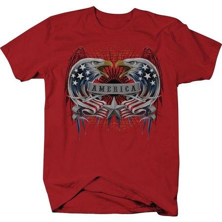 Authentic Classics Mens America Eagle T-Shirt
