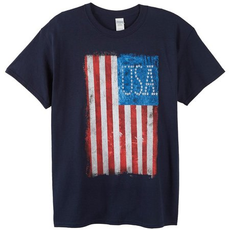 Authentic Classics Mens Stars & Stripes T-Shirt