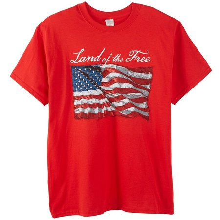 Authentic Classics Mens Land of the Free T-Shirt