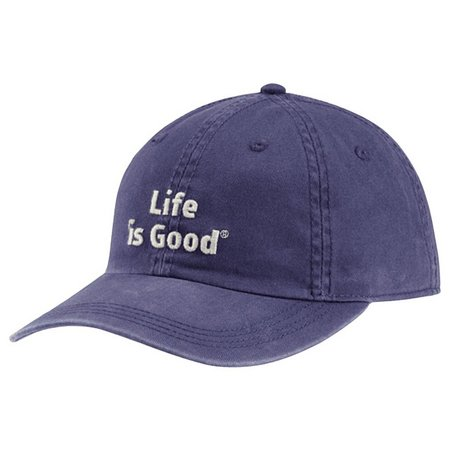 Life Is Good Mens Chill Logo Hat