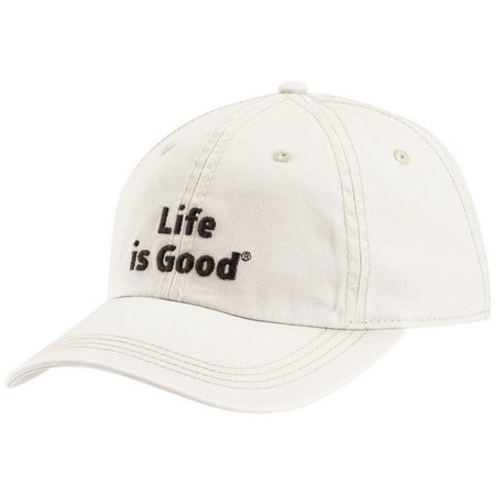 Life Is Good Mens Stitched Logo Chilll Hat