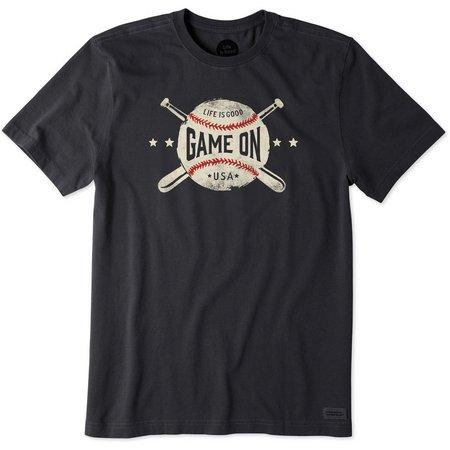 Life Is Good Mens Game On Baseball Crusher