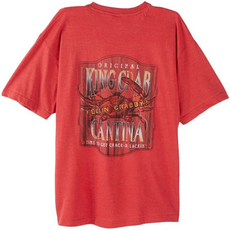 Paradise Shores Mens King Crab T-Shirt