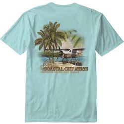 Paradise Shores Mens Coastal Get Aways T-Shirt