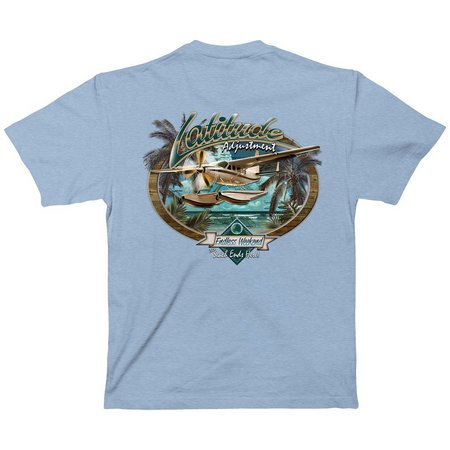 Paradise Shores Mens Latitude Adjustment T-Shirt