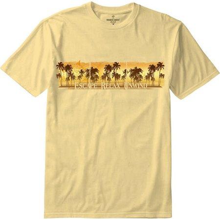 Paradise Shores Mens Escape Relax Unwind T-Shirt