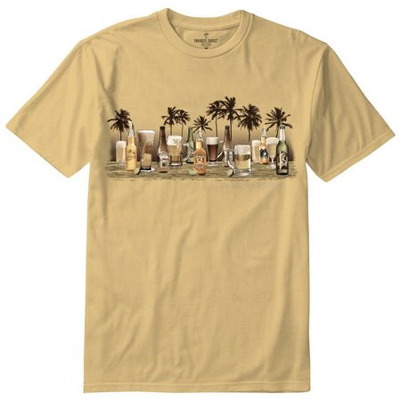 New! Paradise Shores Mens Never Go Thirsty T-Shirt