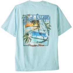 Paradise Shores Mens Great Escape Scenic T-Shirt