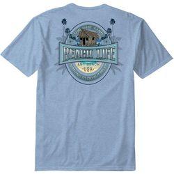 Paradise Shores Mens Beach Life T-Shirt