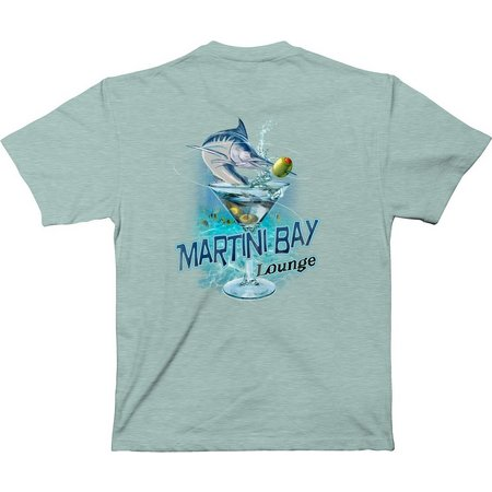 Paradise Shores Mens Martini Bay T-Shirt