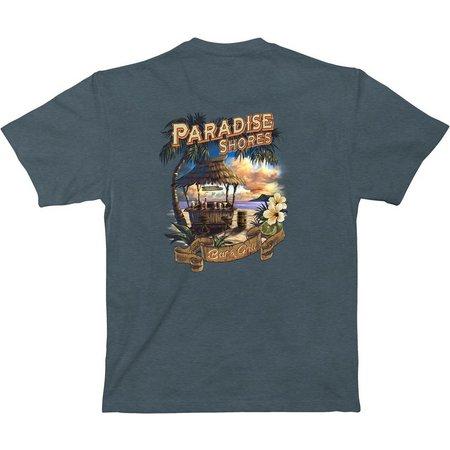 Paradise Shores Mens Bar & Grill T-Shirt