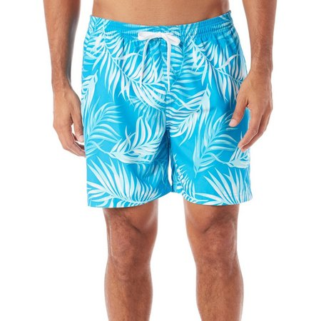 Boca Classics Mens Palm Frond Swim Shorts