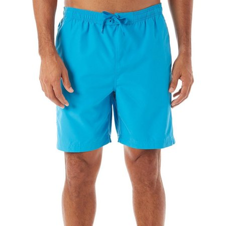 Boca Classics Mens Floral Side Swim Shorts