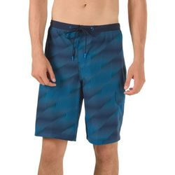 Speedo Mens Crosswise Geo Boardshorts