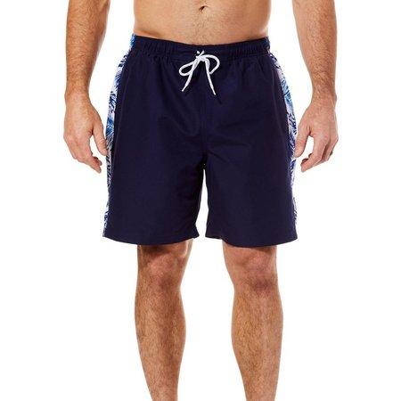 Boca Classics Mens Side Splice Swim Trunks