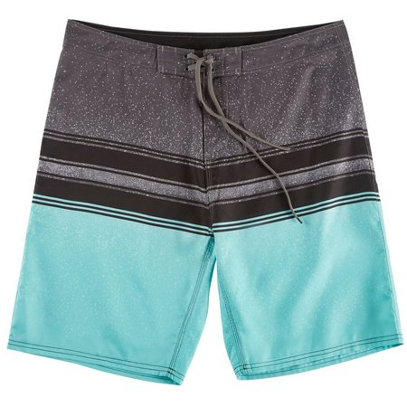 Burnside Mens Aqua Splash Boardshorts