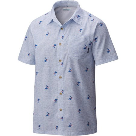 Columbia Mens Super Slack Tide Camp Shirt