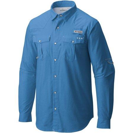 Columbia Mens Long Sleeve Bedhead Oxford Shirt