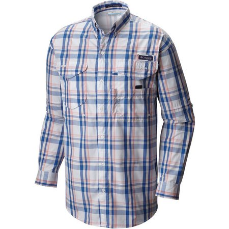Columbia Mens Super Bonehead Vivid Plaid Shirt