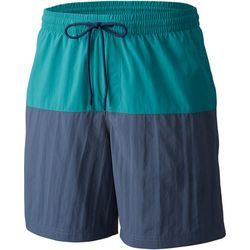 Columbia Mens Blue Lakeside Leisure II Shorts