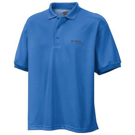 Columbia Mens PFG Perfect Cast Polo Shirt