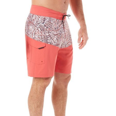 Columbia Mens Low Drag Sunset Red Boardshorts