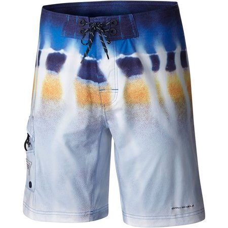 New! Columbia Mens PFG Offshore II Digi Boardshorts