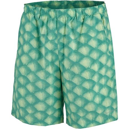 Columbia Mens PFG Backcast II Tarpon Scales Shorts
