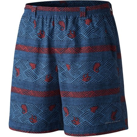 Columbia Mens PFG Backcast II Cross Hatch Shorts